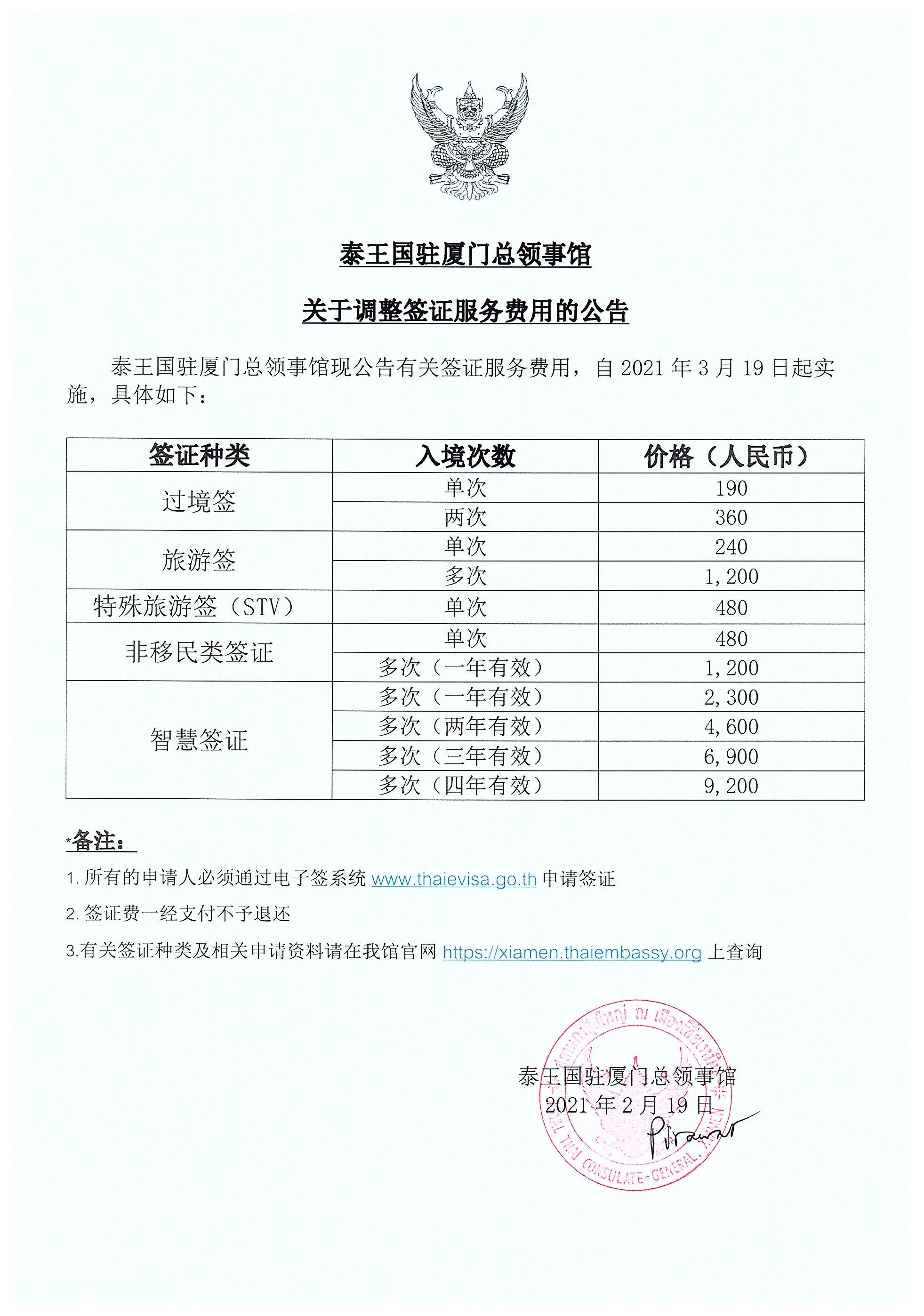 revised_visa_fee_CHN