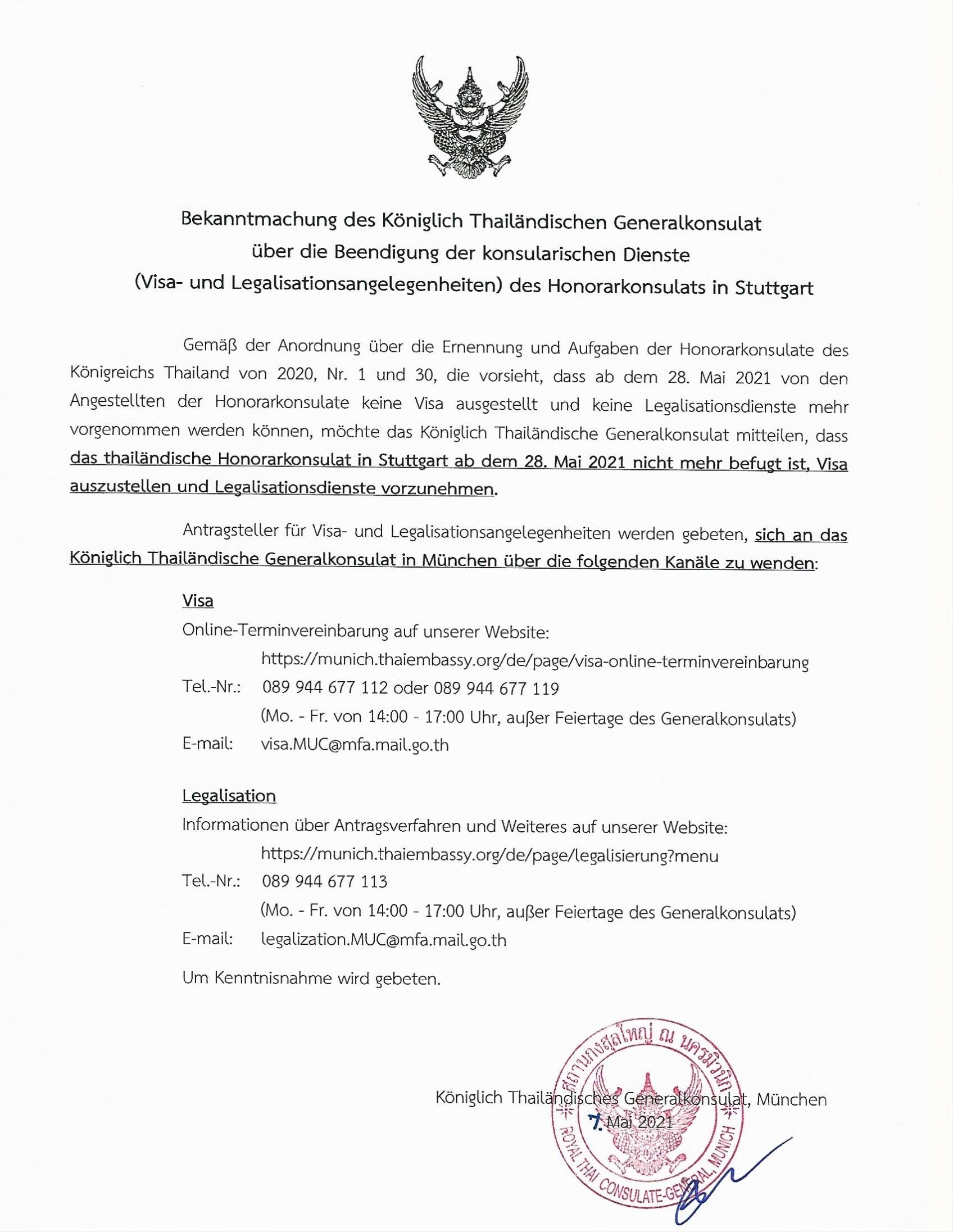 Beendingung_konsularischer_Dienste_RHC-Stuttgart